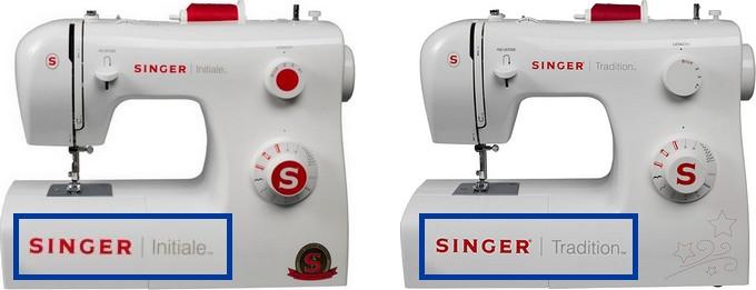 Singer Tradition 2250 & Initiale : deux machines identiques