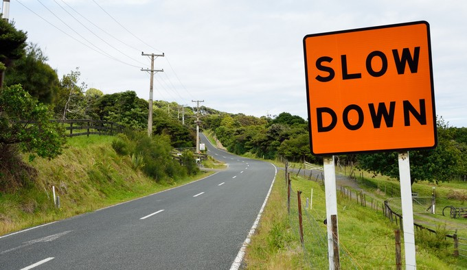 Slow down signal