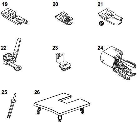 Accessoires en option