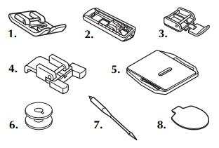 Accessoires inclus