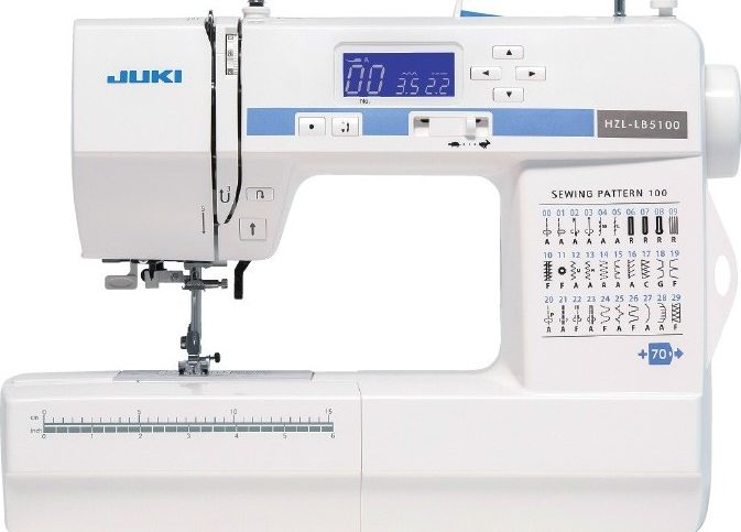 JUKI HZL-LB 5100 : 100 points, Quilt & Patchwork